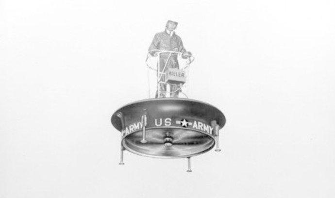 Najdou výrobci dronů inspiraci v minulosti? Před 60 lety testovali Američané létající plošinu
