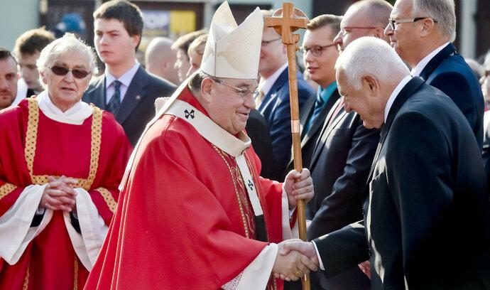 Lidé si ve Staré Boleslavi u Prahy připomněli svatého Václava