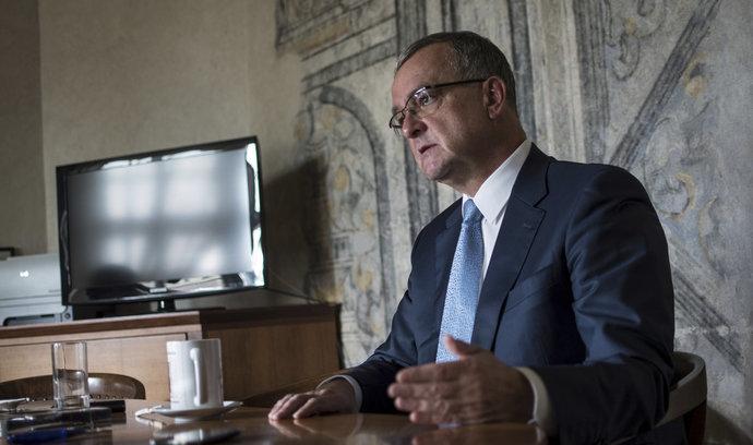 Babišova politika je jako linka na buřty, říká šéf TOP 09 Miroslav Kalousek
