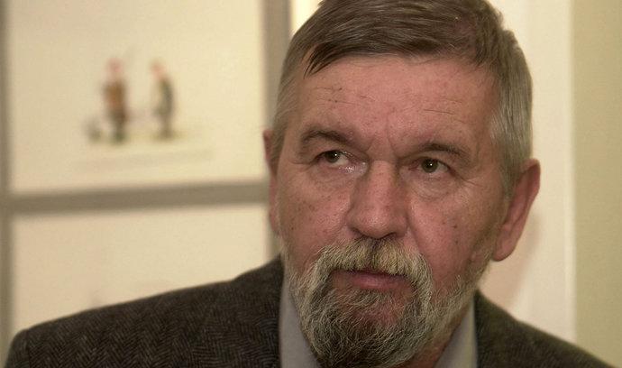 Po dlouhé nemoci zemřel karikaturista a kreslíř Vladimír Renčín