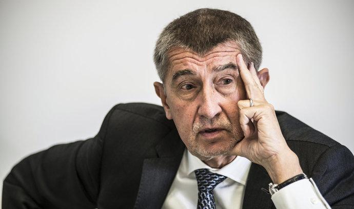 Babiš: Vláda ANO a ČSSD s podporou komunistů je nyní jediná varianta