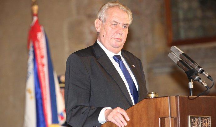 Miloš Zeman - kandidát na prezidenta České republiky ve volbách 2018