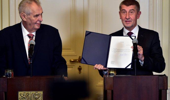 Komentář Martina Čabana: Jak byl Andrej Babiš pověřen
