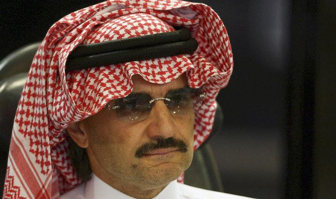 Obětí protikorupční čistky je i vlivná postava finančního světa. Nejbohatší Arab bin Talál