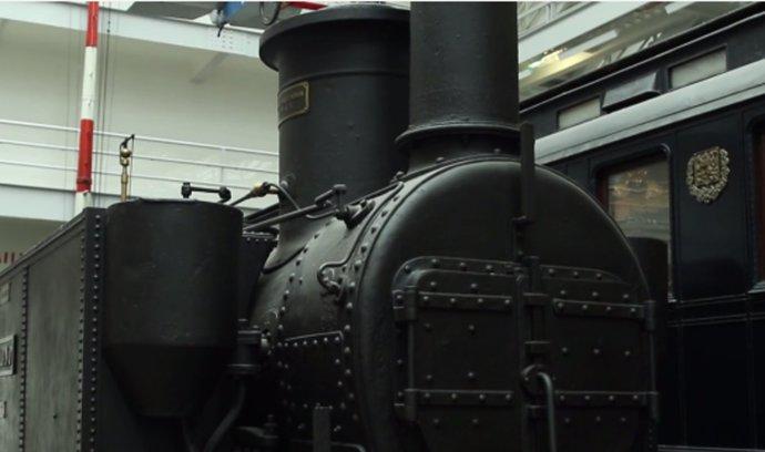 Retrostroje: Jedna z nejstarších dochovaných lokomotiv na světě se nachází v Česku