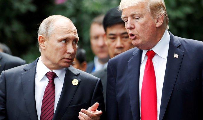 Schůzka Putina a Trumpa proběhne v Helsinkách. Prezidenti budou mluvit i o Sýrii