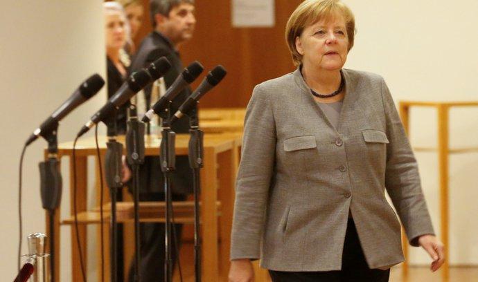 Merkelová věří nové velké koalici. Vláda musí posunout zemi dopředu, zdůraznila