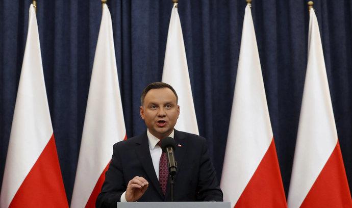 Duda odporu Evropské komise nedbal, reformu polské justice podepsal