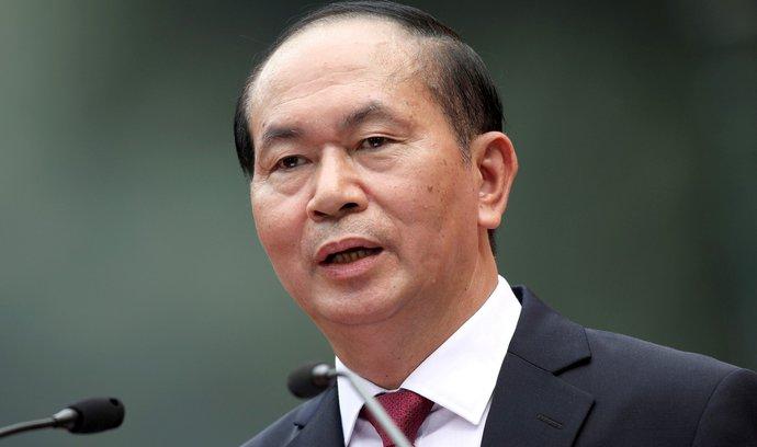 Zemřel vietnamský prezident Tran Dai Quang. Podlehl vážné nemoci
