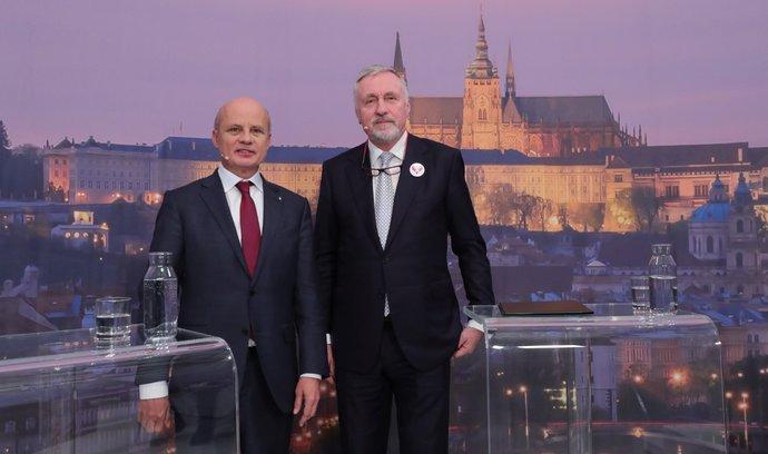 Horáček versus Topolánek. Sledujte předvolební duel