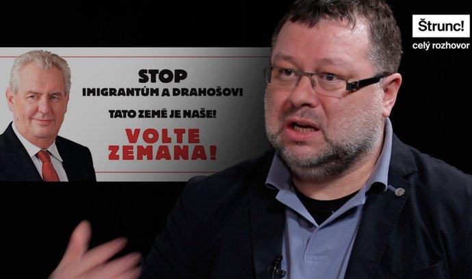 Dehonestující inzeráty na Drahoše platili Číňané. Kampaň je zoufalá a nečestná, říká Kmenta