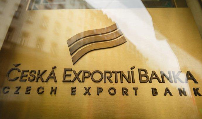 Českou exportní banku má převzít EGAP