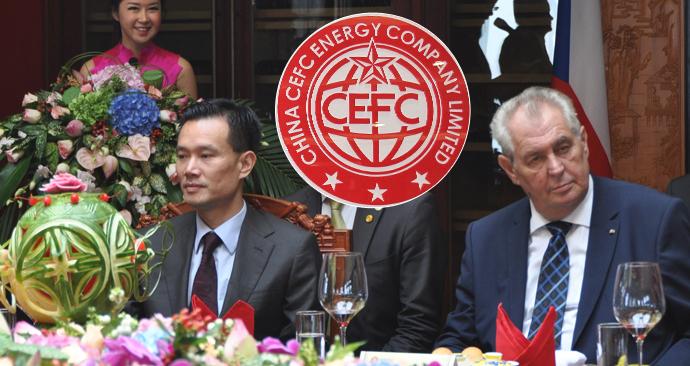 Šéf CEFC odejde z vedení firmy, v Číně je vyšetřován. Poradcem Zemana zůstává