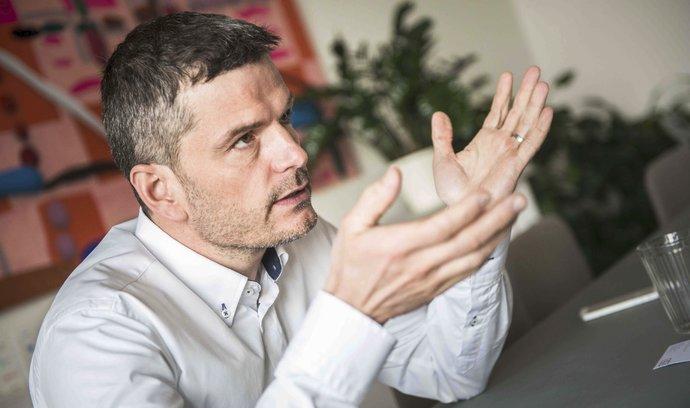 Čas v korporaci byl nejtemnějším obdobím mého života, říká byznysmen Ondřej Fryc