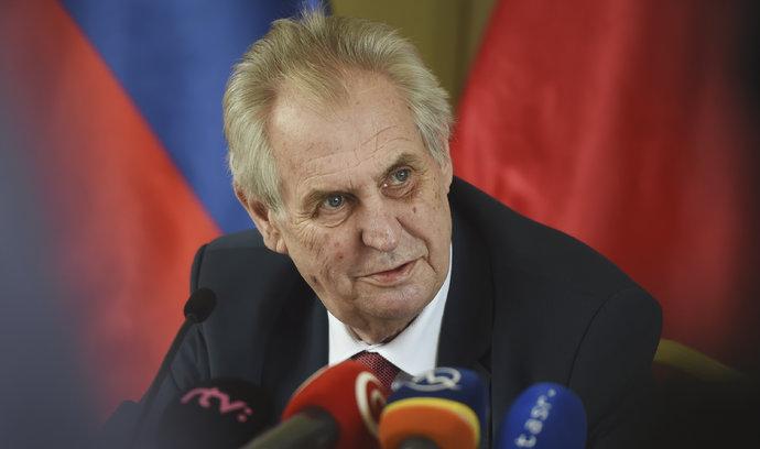Novičokem a výroky Zemana by se měla zabývat bezpečnostní rada, soudí ANO a ČSSD