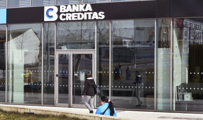 Creditas umožňuje ovládání účtu jiných bank, zatím Equa banky a Fio. Brzy i dalších