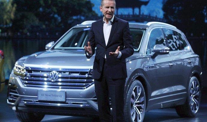Nový šéf VW Diess se osvědčil už v BMW