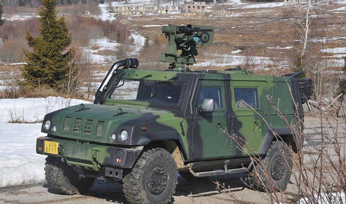 Armáda nakoupí osmdesát obrněných vozidel za pět miliard