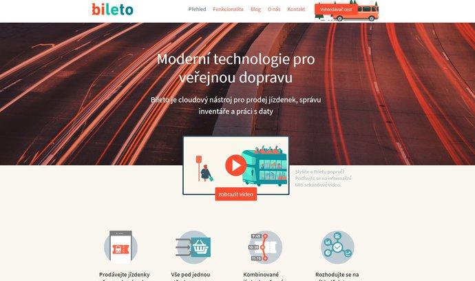 Aplikace Bileto usnadní výběr správného dopravního spojení, možnostmi překoná i Google