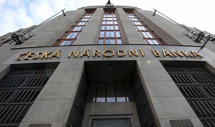 Česká národní banka získá přesnější pravomoci pro případ krize na finančním trhu