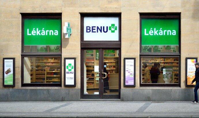 Řetězci lékáren Benu vzrostly tržby o více než desetinu