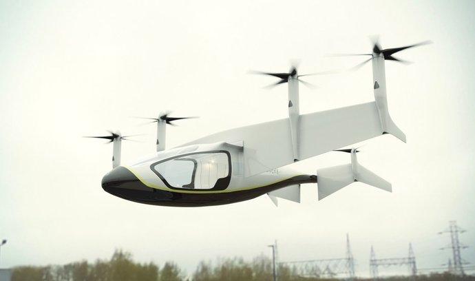 Rolls-Royce věří budoucnosti létajících taxi, firma navrhla systém elektrického pohonu