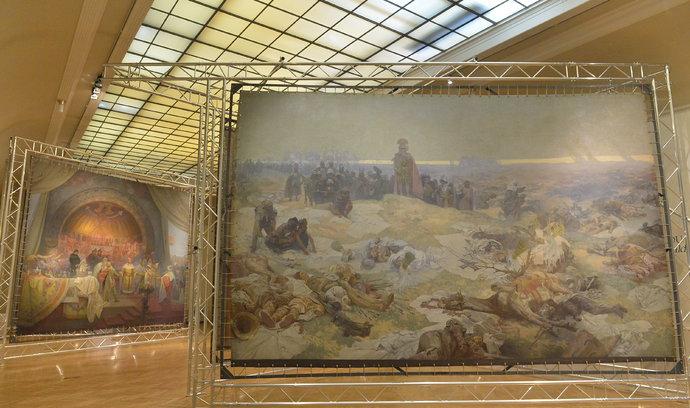 Praha zapůjčí Slovanskou epopej Moravskému Krumlovu, pokud splní všechny podmínky