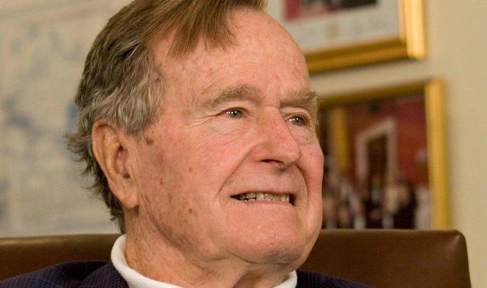 Nesmlouvavý gentleman George H.W. Bush. Vítěz studené války, který dokázal okouzlit i Čechy