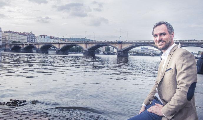 Investice v Praze fungují jako malá domů kmotrům, říká pražský lídr za Piráty Zdeněk Hřib