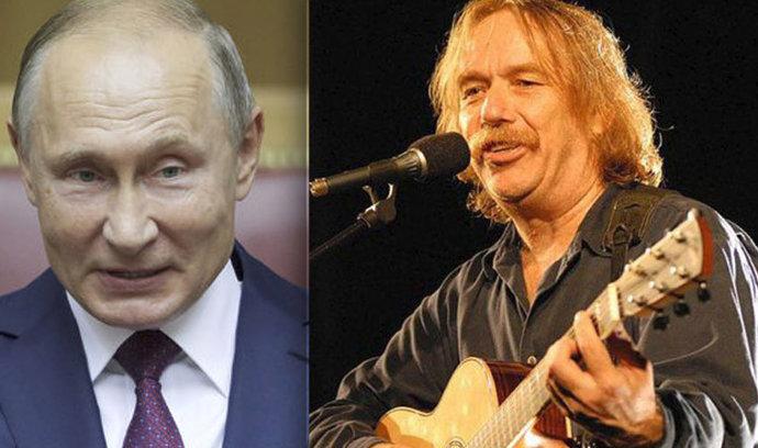 Písničkář Nohavica převzal Puškinovu medaili od ruského prezidenta Putina