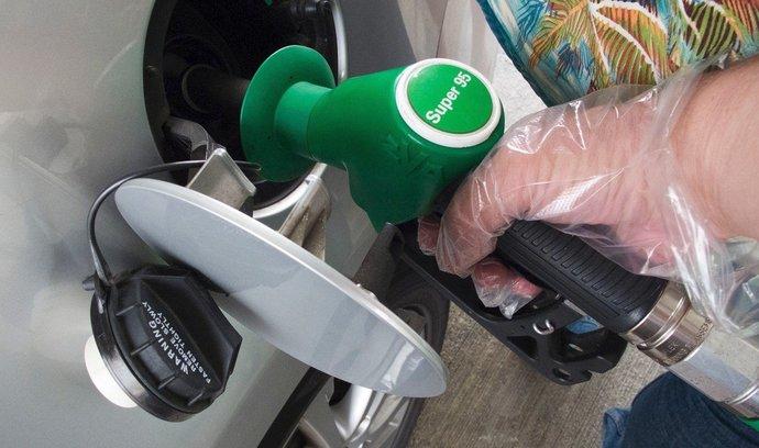 Ceny pohonných hmot se za týden příliš nezměnily
