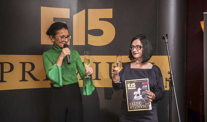 E15 pokřtila magazín Elita byznysu. Na oslavu dorazili špičkoví podnikatelé i designéři