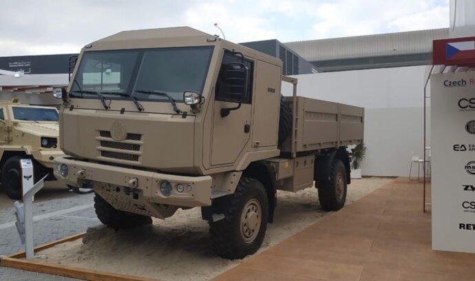 Tatra ukázala v Emirátech nový vůz. Prohlédněte si přírůstek řady Tactic