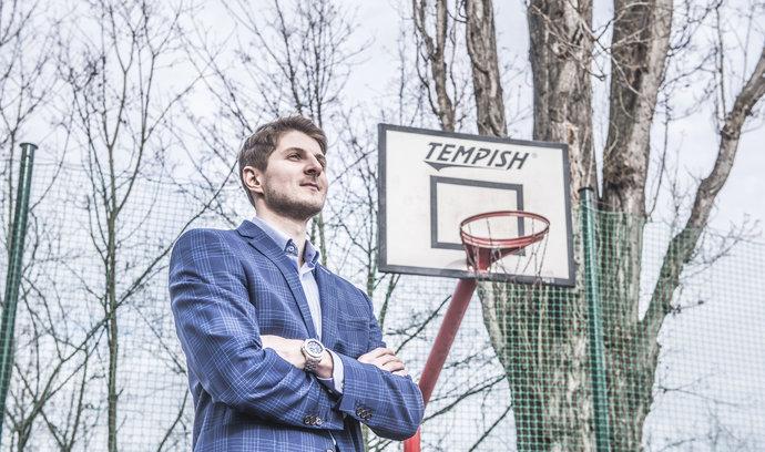 Zatím jsem měl šťastnou ruku, říká hledač talentů pro NBA Jakub Kudláček