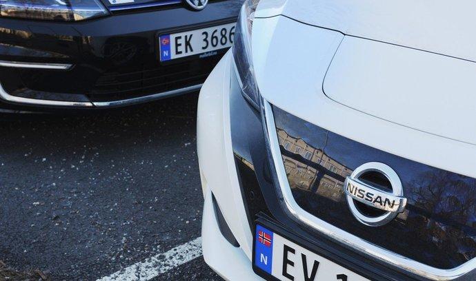 Elektromobily poprvé ovládly trh. Norové jich v březnu koupili více než klasických vozů