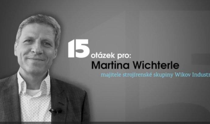 Nad něčím je lepší mávnout rukou, říká majitel strojírenské firmy Wikov Martin Wichterle