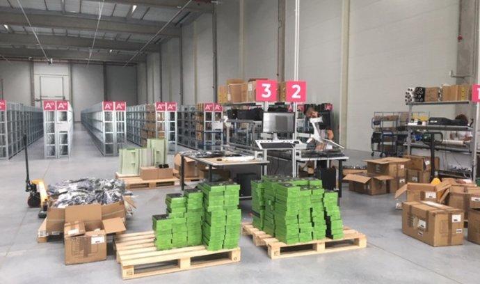 Na Ostravsku vzniká obří logistické centum. Má zájem o zboží z Číny