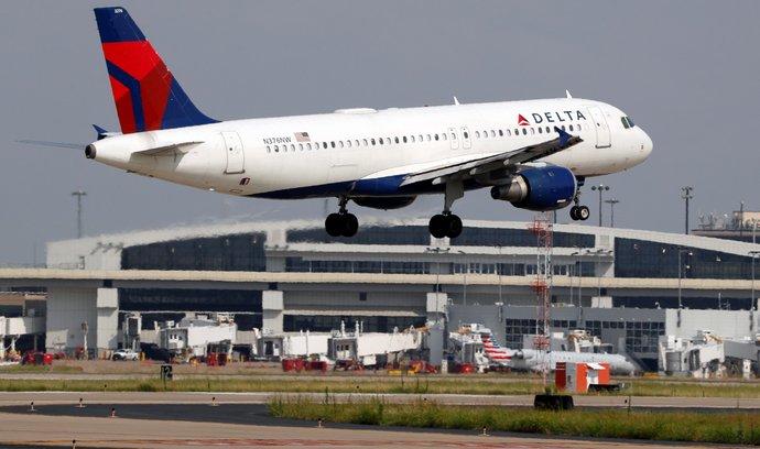 Aerolinky Delta zvýšily čtvrtletní zisk o 39 procent, těží ze silné poptávky
