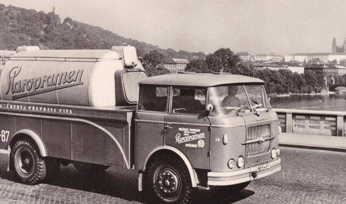 Pračep, Granát a archivní snímky. Připomeňte si historii druhého největšího českého pivovaru
