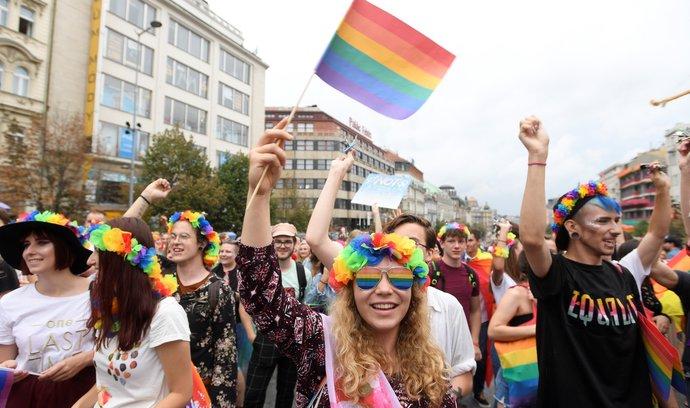 Záměr Prague Pride byl původně komerční, politika se do něj dostala později, říká sociolog