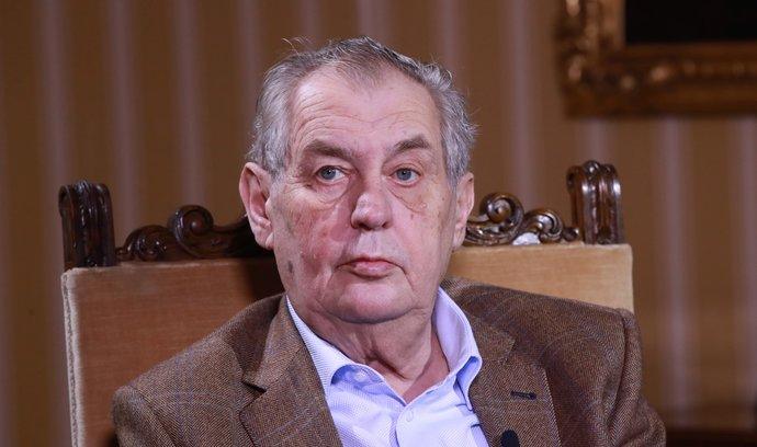 Zeman si váží rozhodnutí Válkové nekandidovat na post ombudsmanky