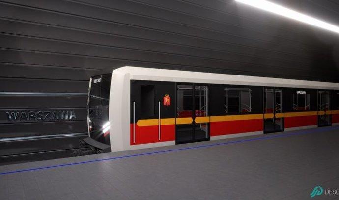 Škoda Transportation dodá metro pro Varšavu. Hodnota zakázky se může vyšplhat na osm miliard
