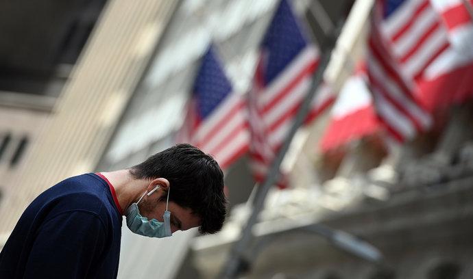Výprodej technologických akcií. Americké indexy rekordně propadly