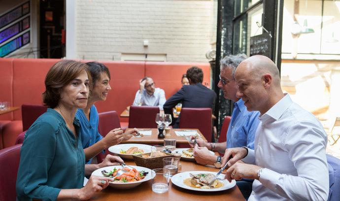 Edenred rozdá 30 tisíc obědů zdarma, chce pomoct vrátit lidi do restaurací
