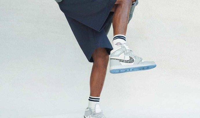 Dior X Nike Air Jordan 1 - nejvýznamnější kolaborace značek roku 2020