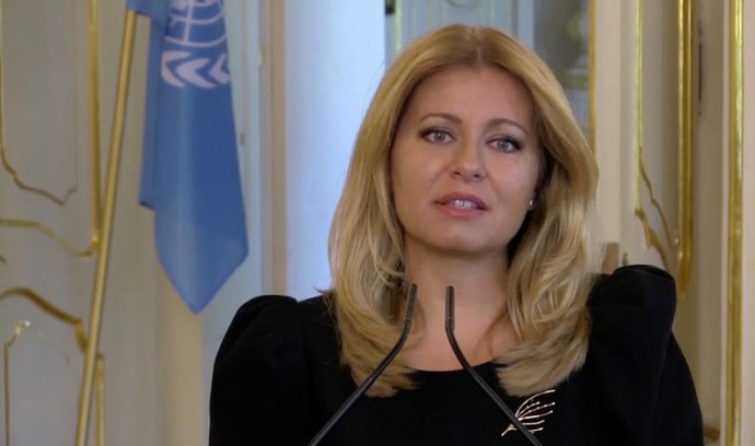 Čaputová varovala Slováky před českým scénářem vývoje epidemie