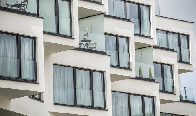 Bytové domy na pražském Smíchově