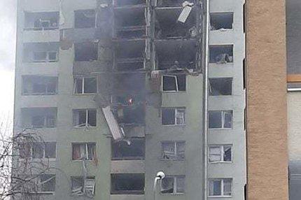 Děsivá tragédie na Slovensku: Mrtví po explozi v paneláku