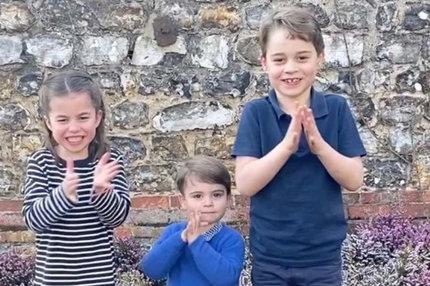 Dojemný vzkaz Williamových dětí: Zasloužený potlesk!