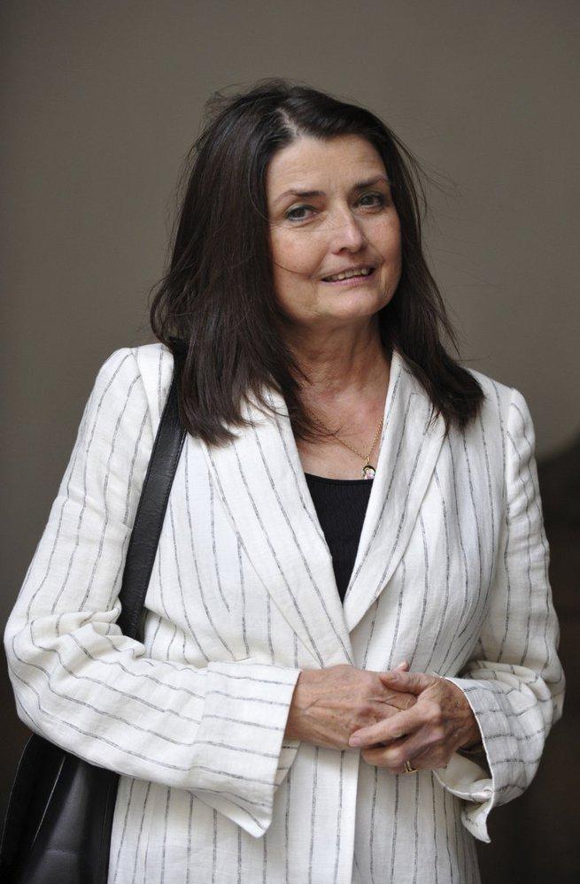 Manželka Miluška Voborníková.